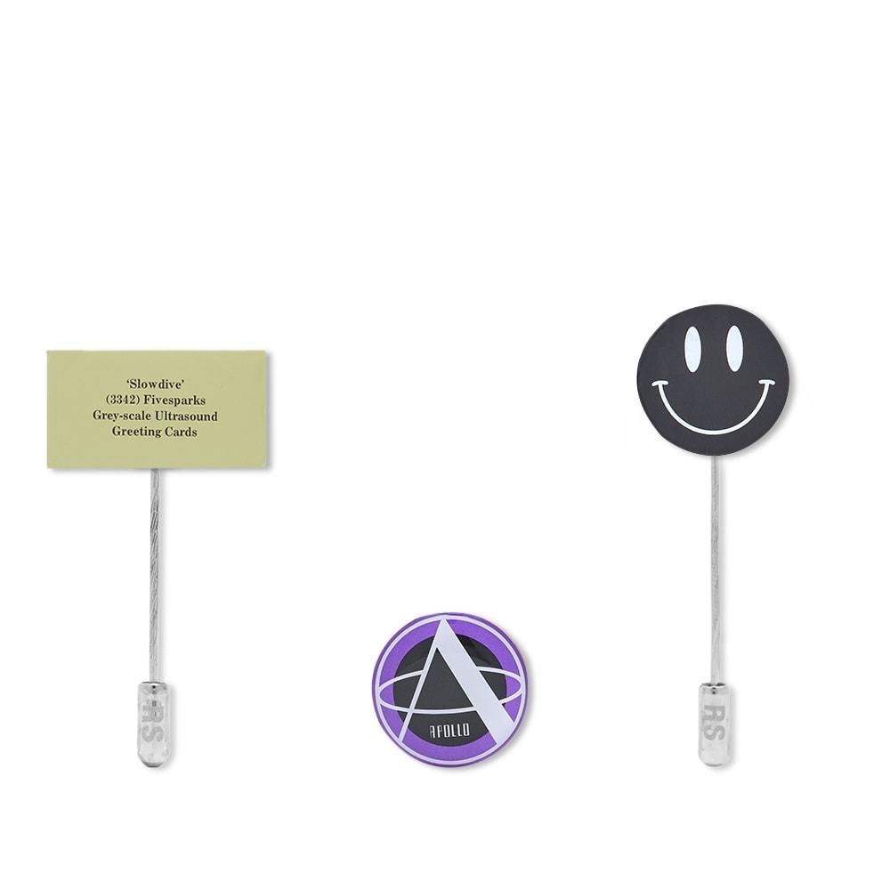 Raf Simons Metal Pin Set B
