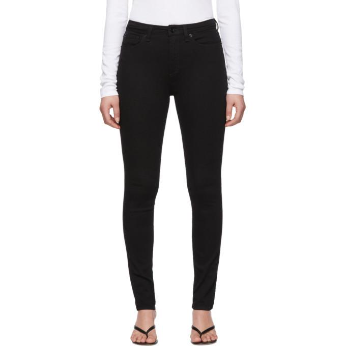 Photo: rag and bone Black Nina Skinny Jeans