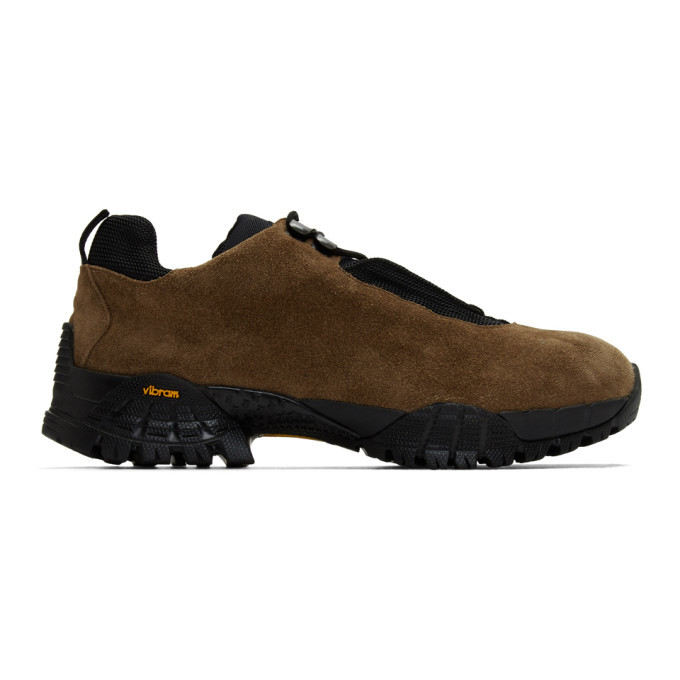 Photo: 1017 ALYX 9SM Brown Suede New Hiking Sneakers