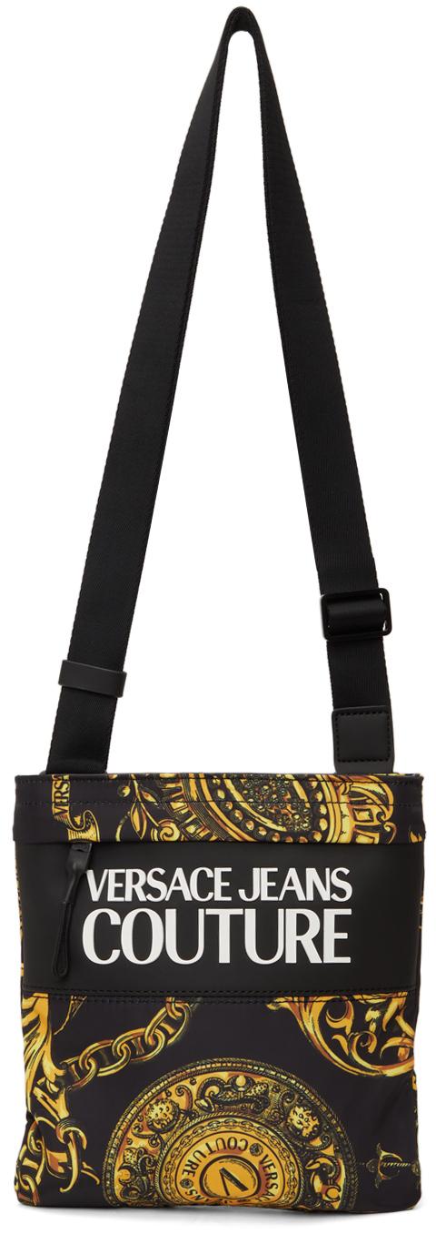 Photo: Versace Jeans Couture Black Regalia Baroque Messenger Bag