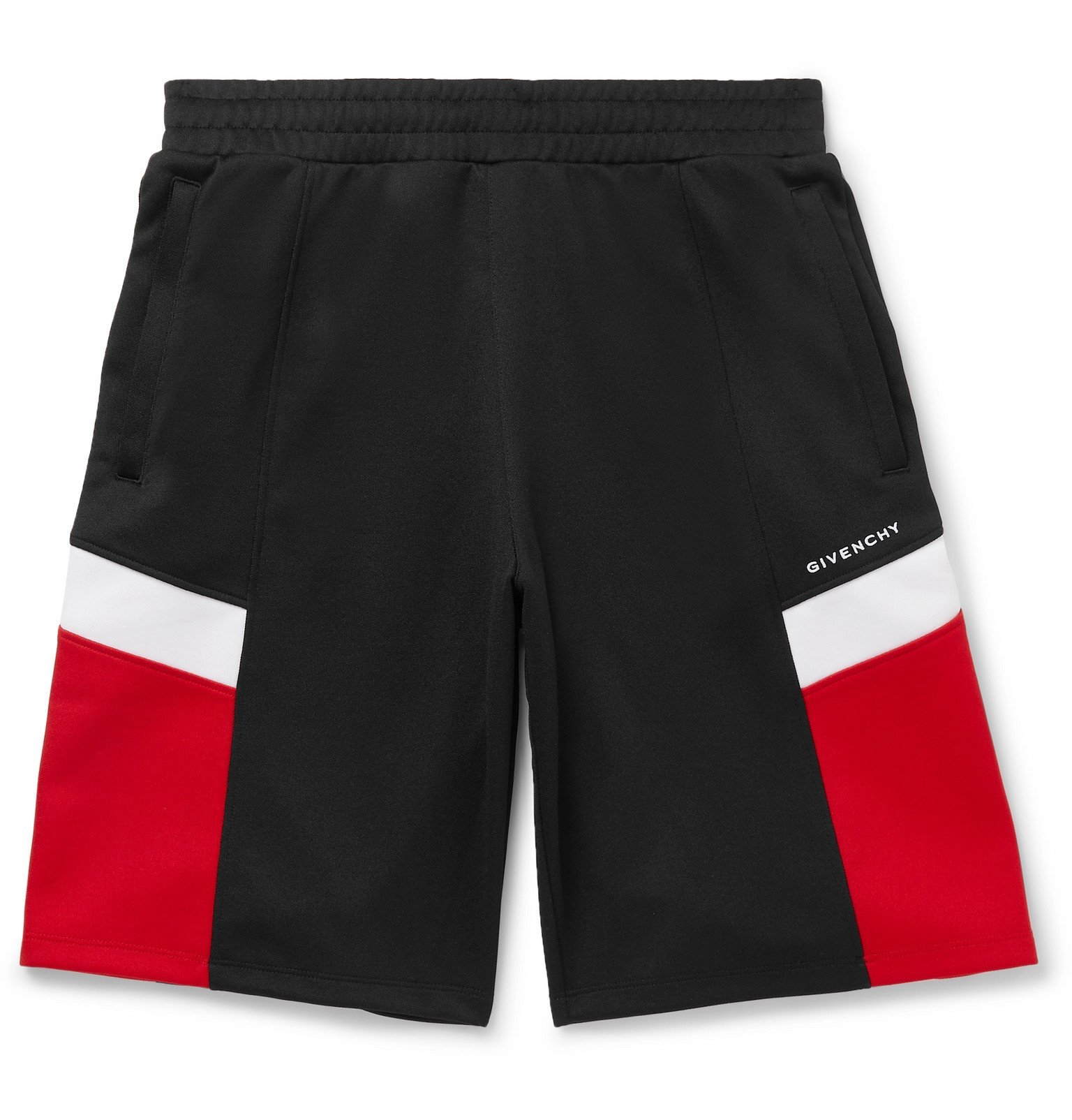 Photo: Givenchy - Colour-Block Tech-Jersey Shorts - Multi