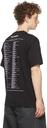 Raf Simons Black Big Fit Tour 'Teenage Dreams' T-Shirt