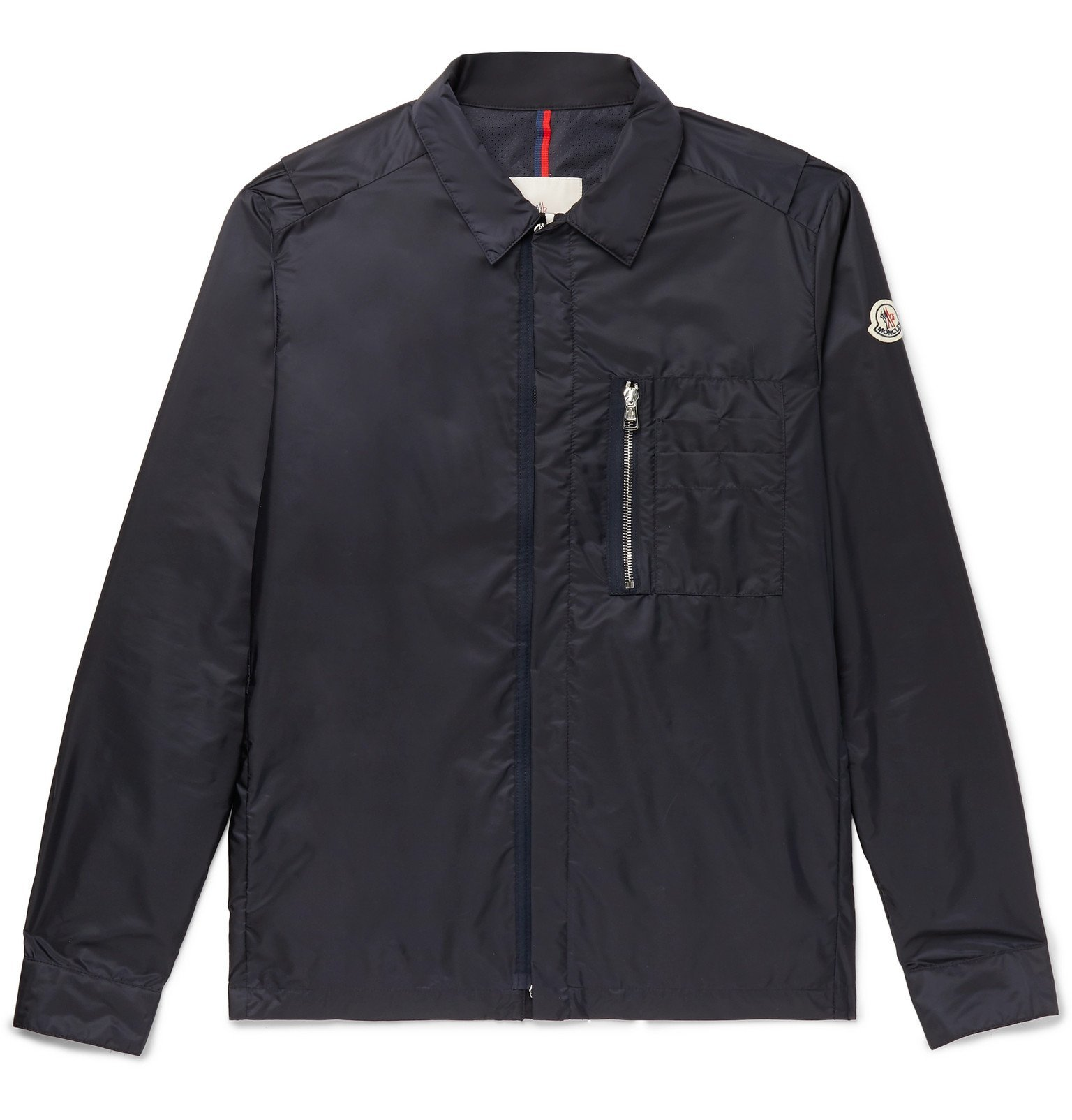 Photo: Moncler - Shell Bomber Jacket - Blue
