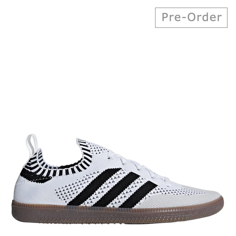 Samba Primeknit Sock - White / Black / Bluebird