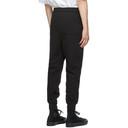3.1 Phillip Lim Black Classic Tapered Sweatpants