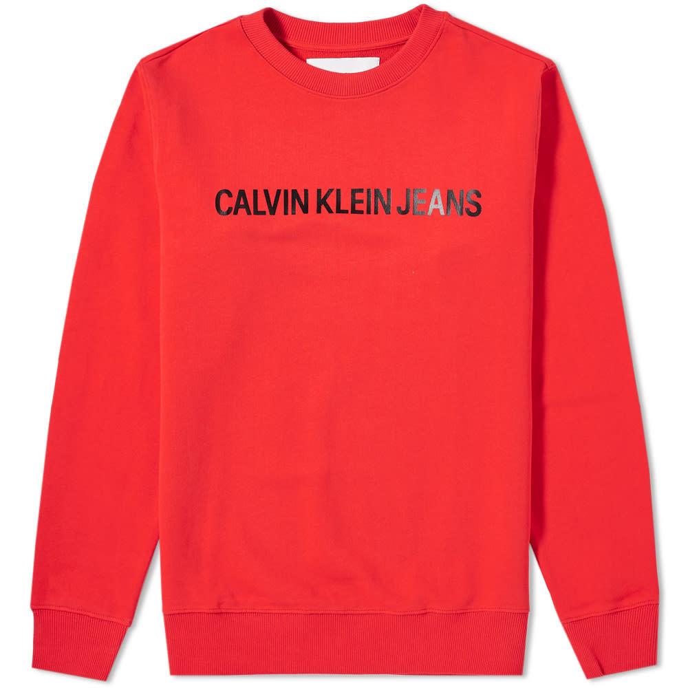 Photo: Calvin Klein Institutional Logo Crew Sweat