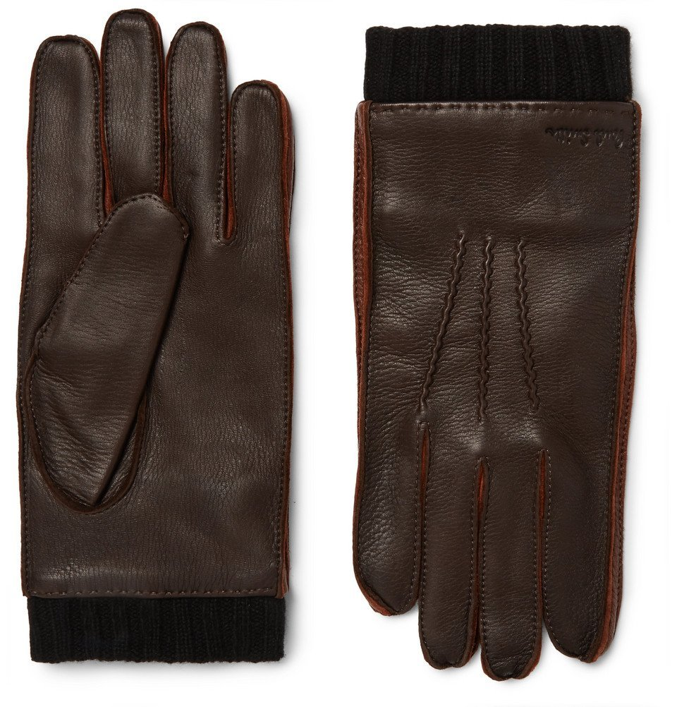 Photo: Paul Smith - Leather Gloves - Dark brown