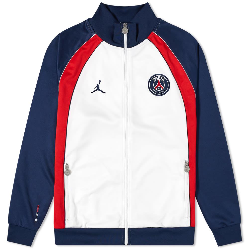 Photo: Air Jordan Paris Saint-Germain Anthem 2.0 Jacket