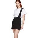 3.1 Phillip Lim Black Single Strap Miniskirt
