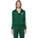 adidas Originals Green Firebird Zip-Up Sweater