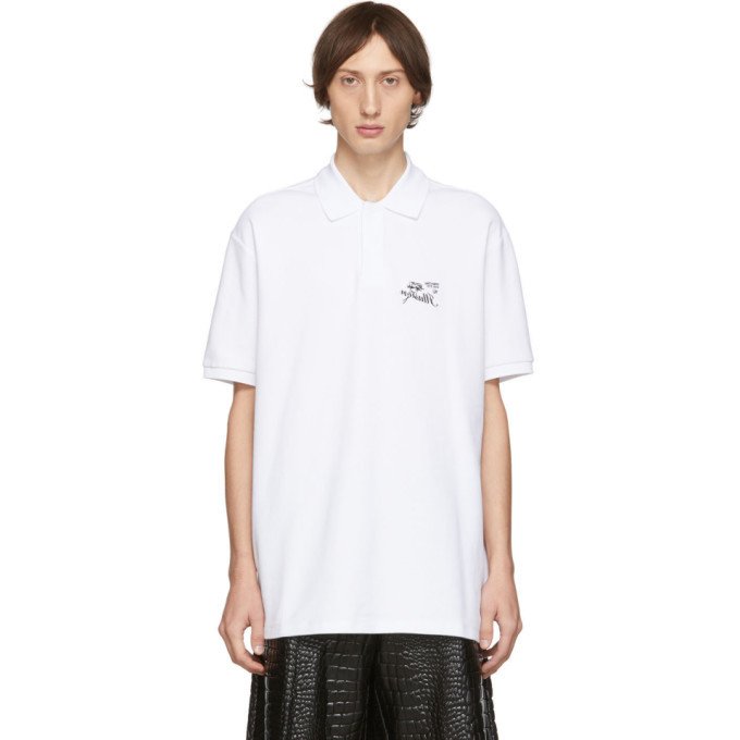 Photo: Raf Simons White Illusion Polo