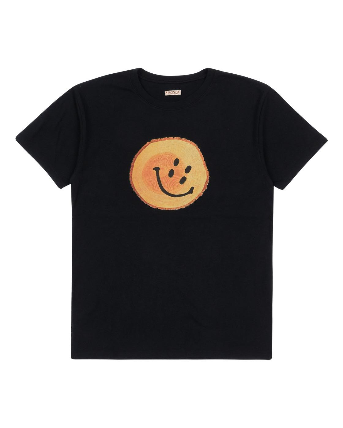 Photo: Kapital Smile T Shirt Black