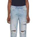 Ksubi Blue Bullet Jeans