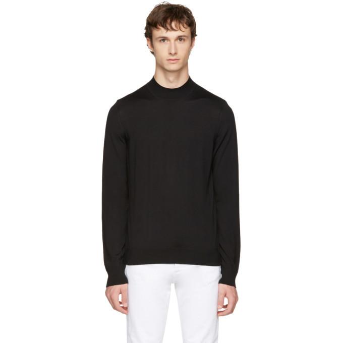 Photo: Maison Margiela Black Mock Neck Sweater