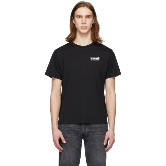 Photo: Levis Black Wordmark T-Shirt