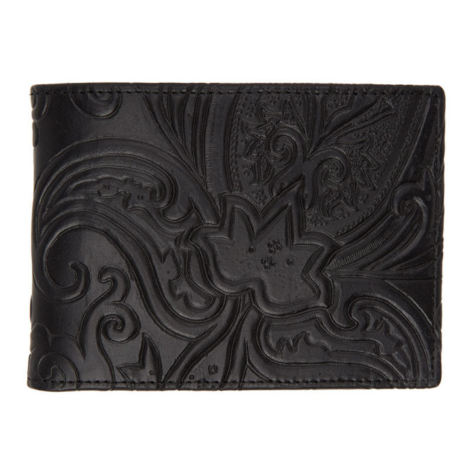 Photo: Etro Black Paisley Bifold Wallet