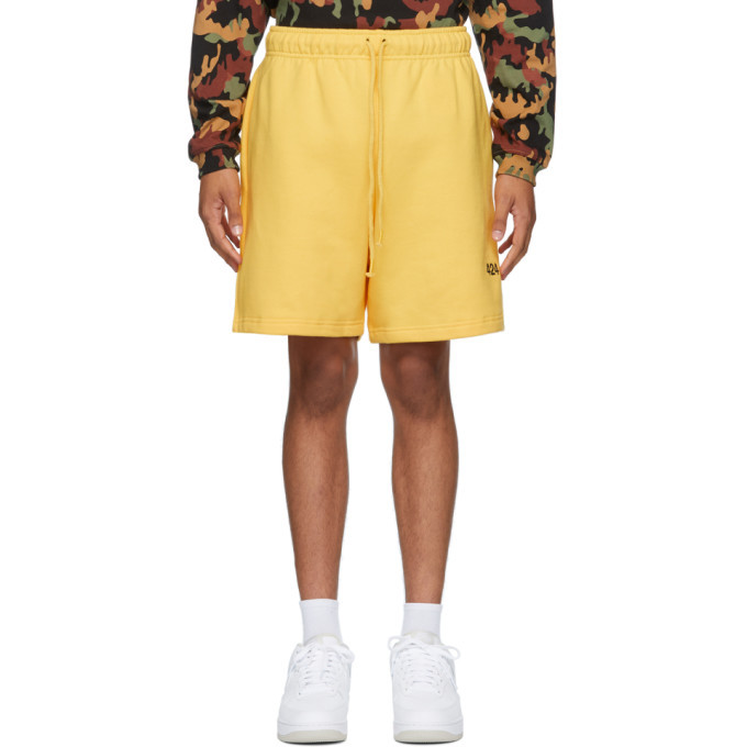 Photo: 424 Yellow Logo Shorts