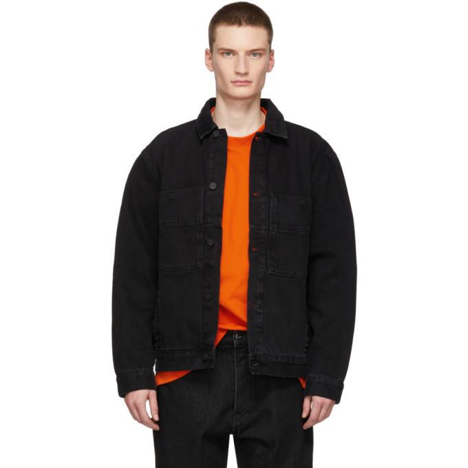 Photo: Etudes Black Denim Guest Jacket