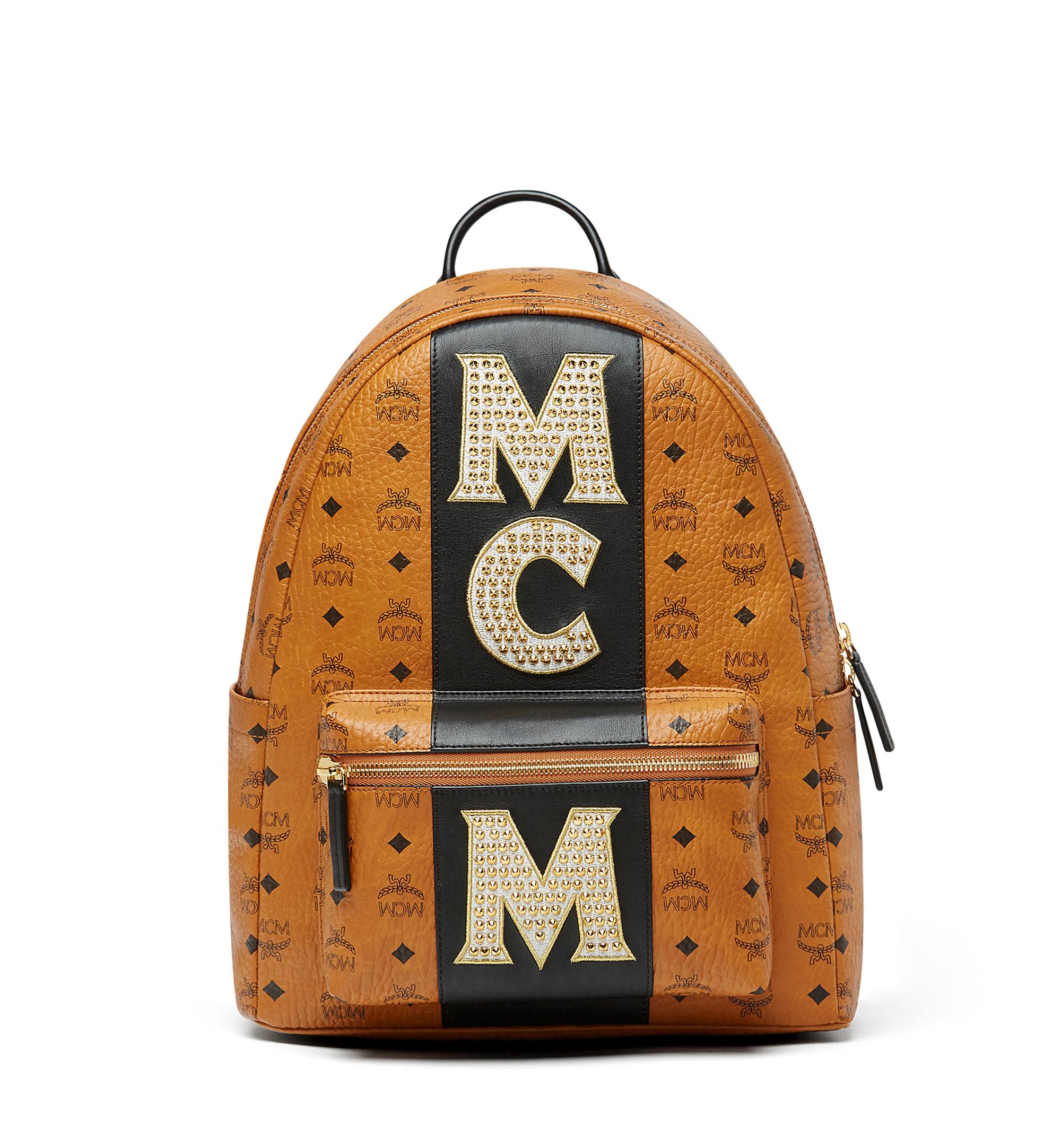 Photo: Stark Backpack In Stripe Studs Visetos