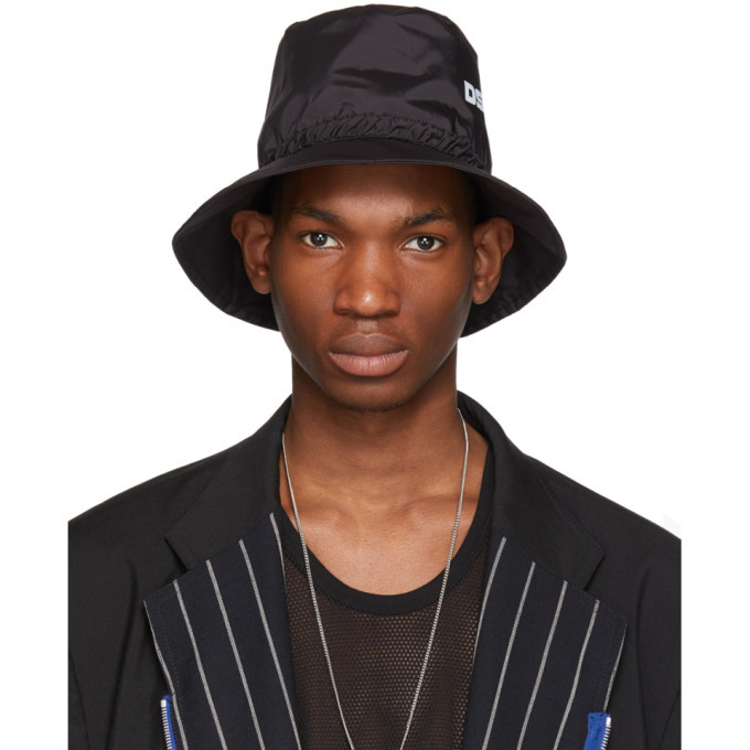 Photo: Dsquared2 Black Bionic Sport Hat
