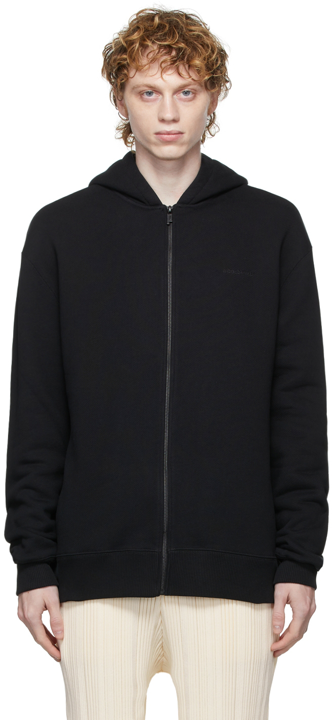 Photo: A-COLD-WALL* Essential Logo Zip Hoodie