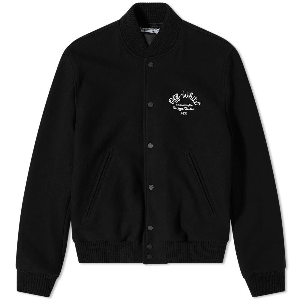 Photo: Off-White Arrow Varsity Jacket