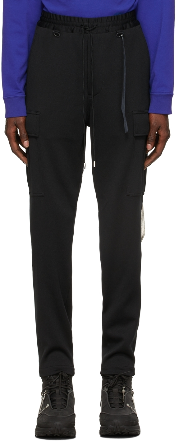 Photo: mastermind JAPAN Black Jersey Cargo Pants