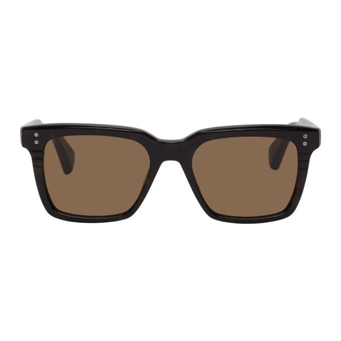 Photo: Dita Brown Tortoiseshell Sequoia Sunglasses