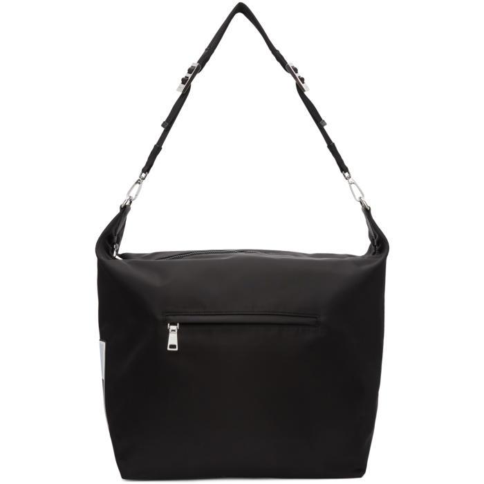Photo: Prada Black Nylon Messenger Bag