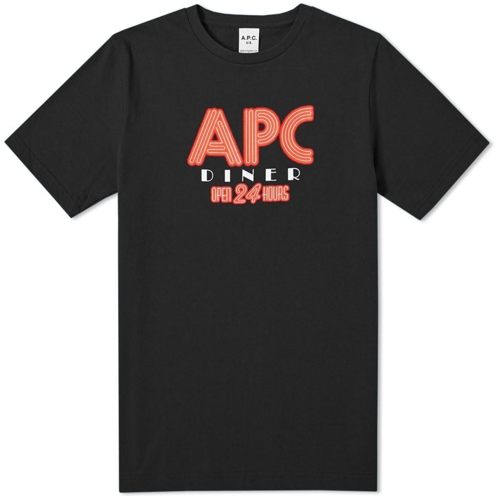 Photo: A.P.C. Taylor Logo Tee