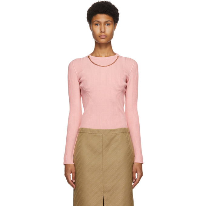 Photo: Givenchy Pink Chain Sweater