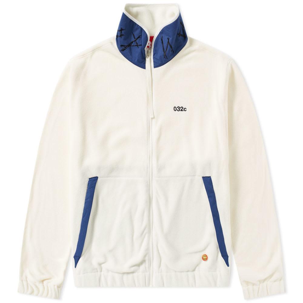 Photo: 032c x Chevignon Fleece Jacket White