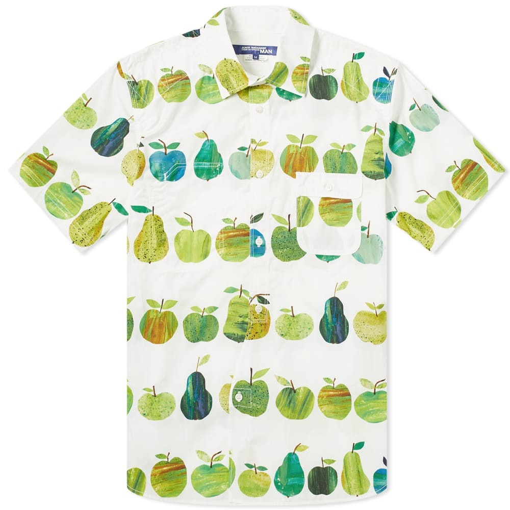 Photo: Junya Watanabe MAN x Tracey English Apple Print Shirt
