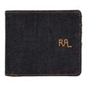 RRL Indigo Denim Bifold Wallet