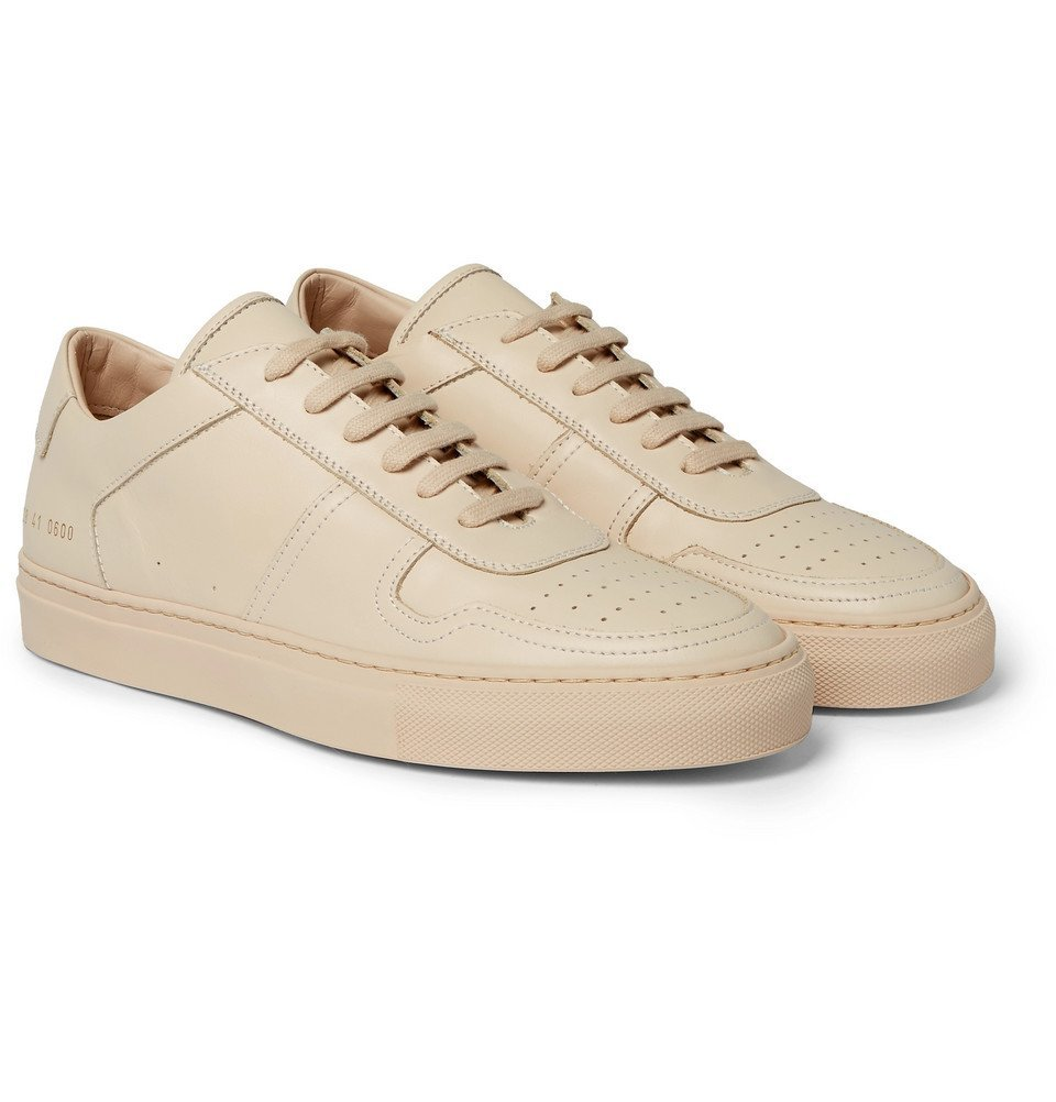 Photo: Common Projects - BBall Leather Sneakers - Men - Sand