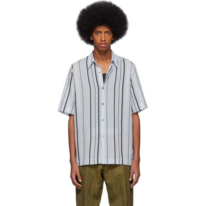 Photo: Dries Van Noten Blue Striped Clasen Shirt