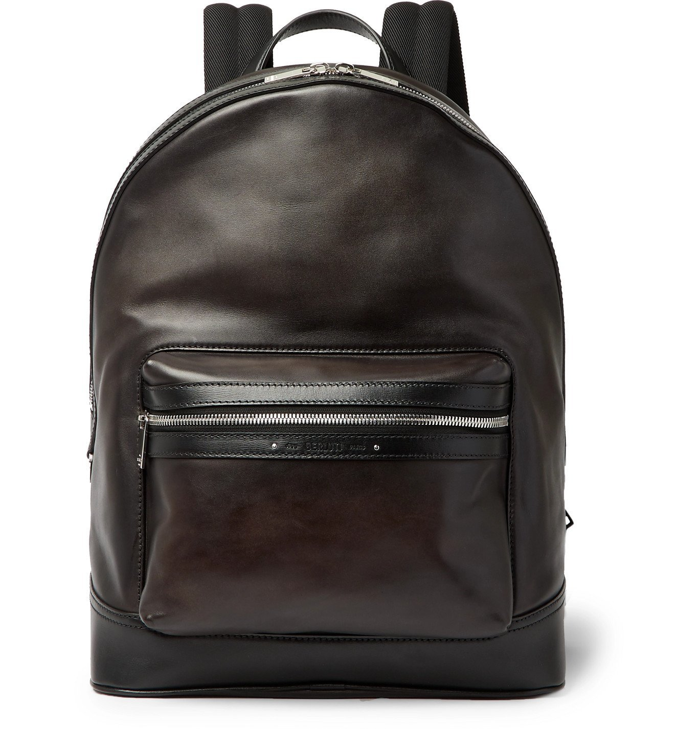 Photo: Berluti - Explorer Venezia Leather Backpack - Black
