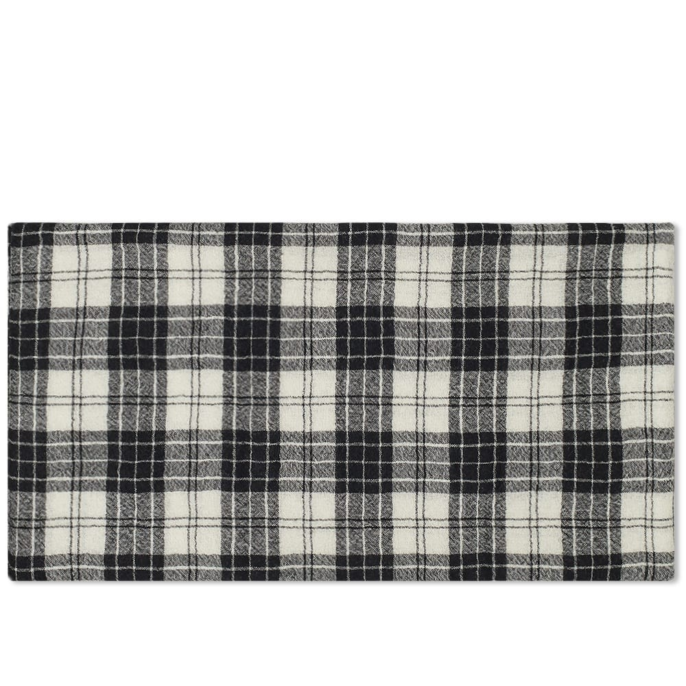 Officine Generale Japanese Wool Check Scarf