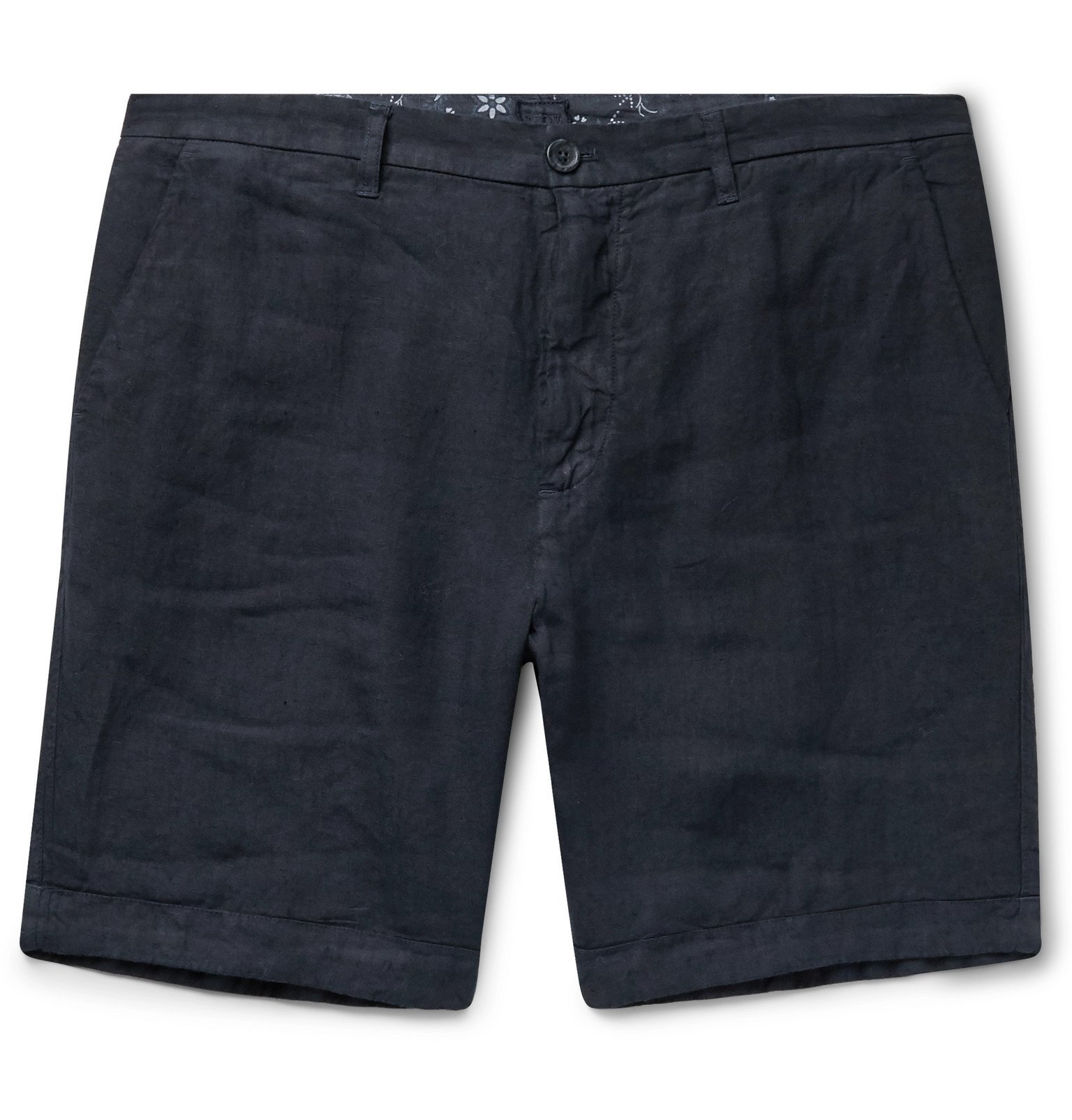 Photo: 120% - Linen Shorts - Blue