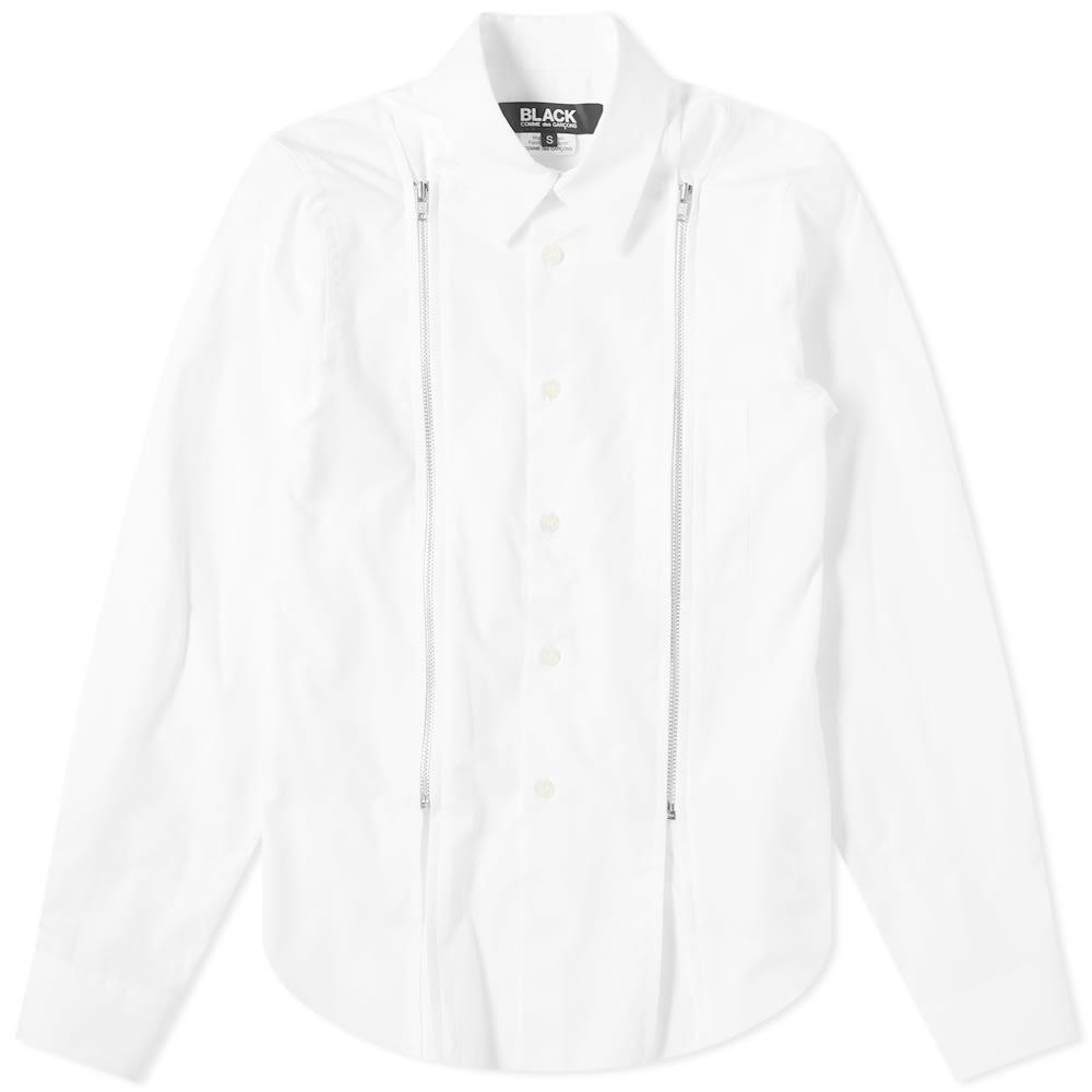 Photo: Comme des Garçons Black Zip Shirt