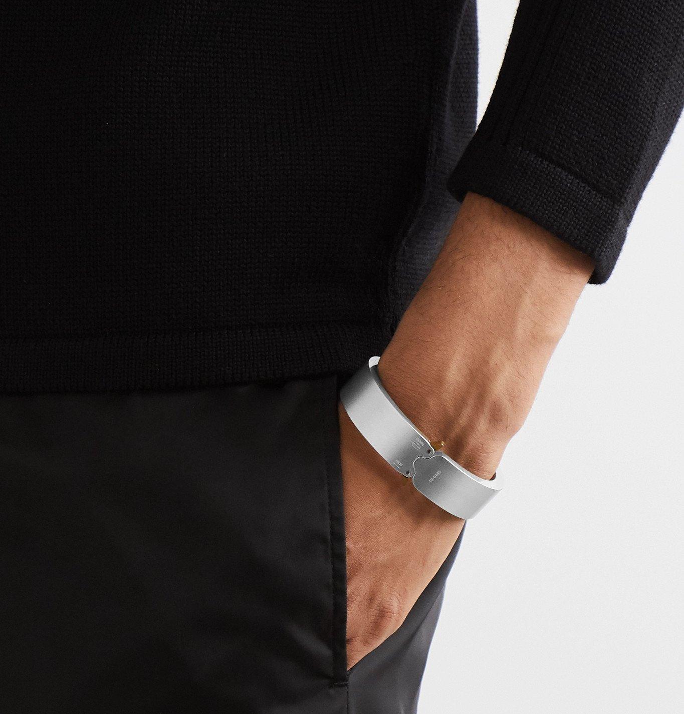 1017 ALYX 9SM - Silver-Tone Bracelet - Silver