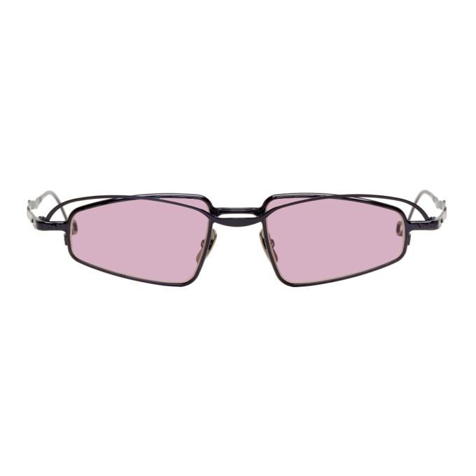 Photo: Kuboraum Black and Pink H73 BL Sunglasses