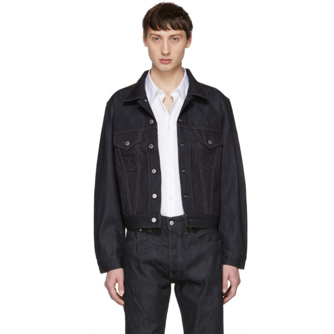 Photo: Helmut Lang Indigo Denim Masc Trucker Jacket
