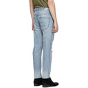 Ksubi Blue Chitch Chop Billbored Jeans