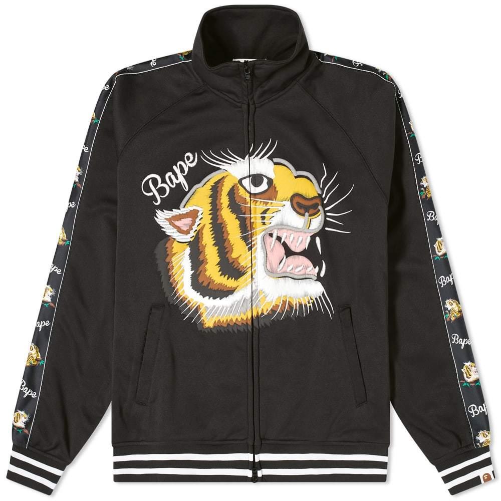 Photo: A Bathing Ape Tiger Jersey Jacket