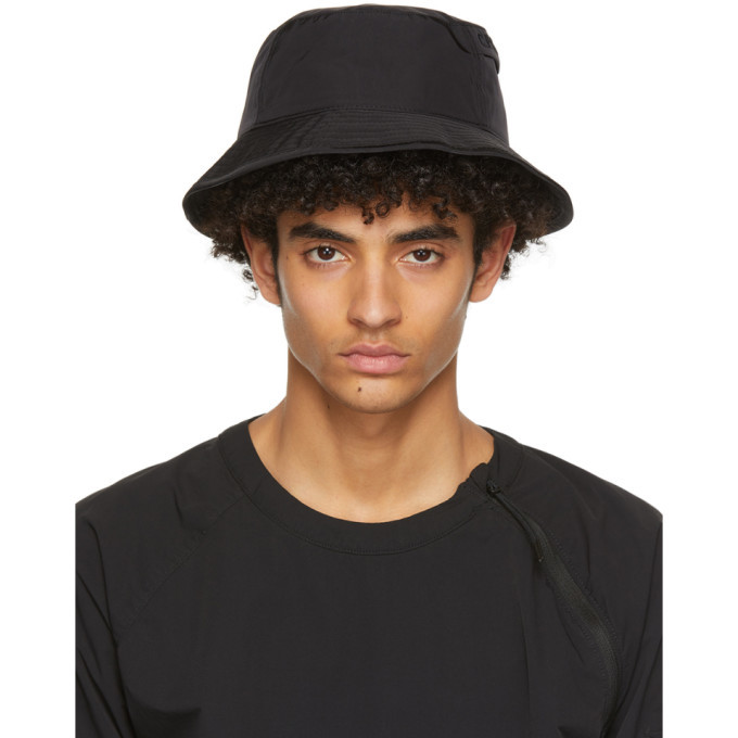 Photo: C.P. Company Black Chrome Garment-Dyed Bucket Hat