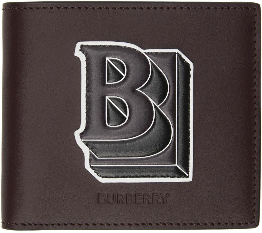 Photo: Burberry Burgundy B Wallet