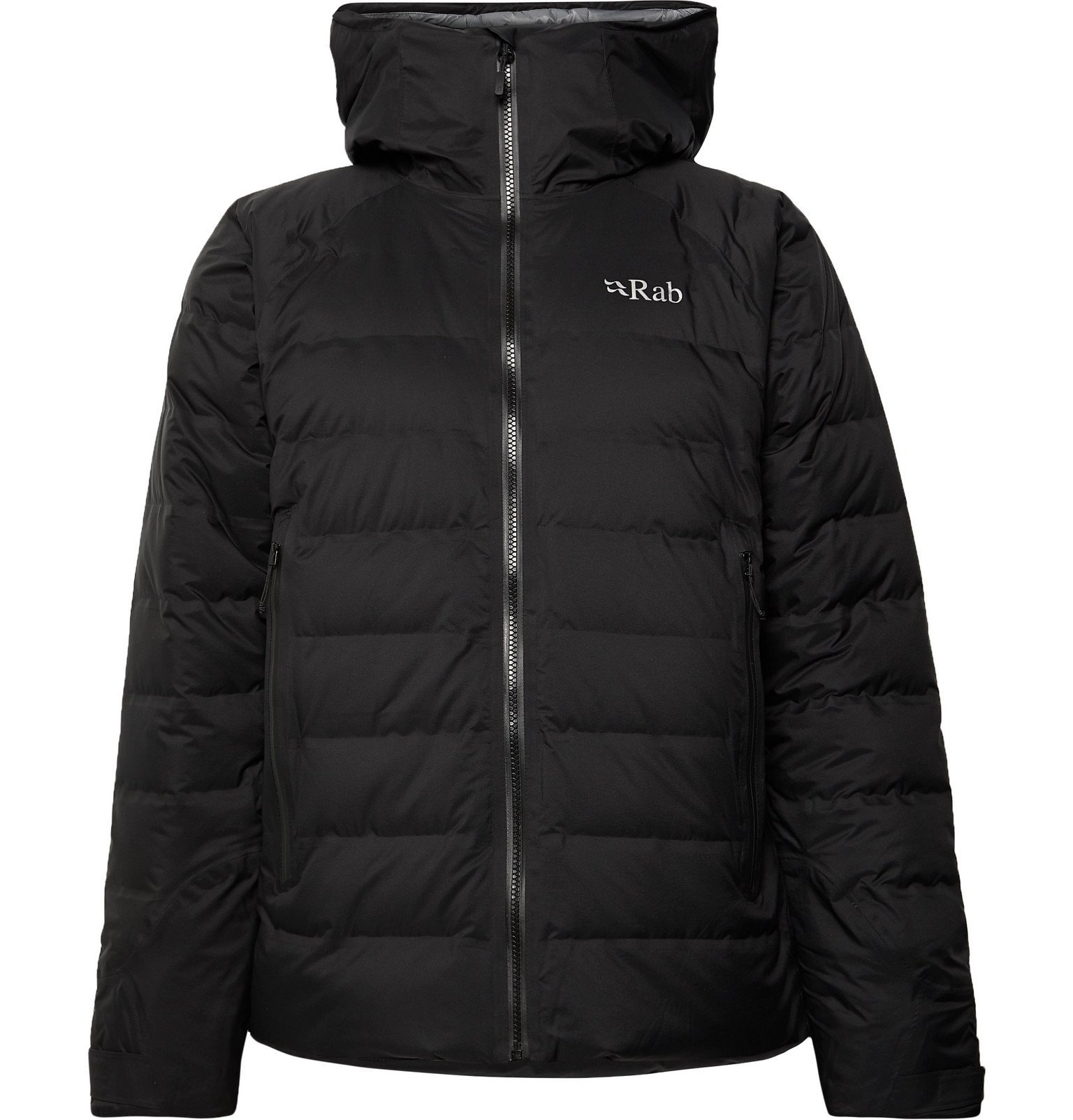 Photo: Rab - Valiance Quilted Ripstop Hooded Down Jacket - Black