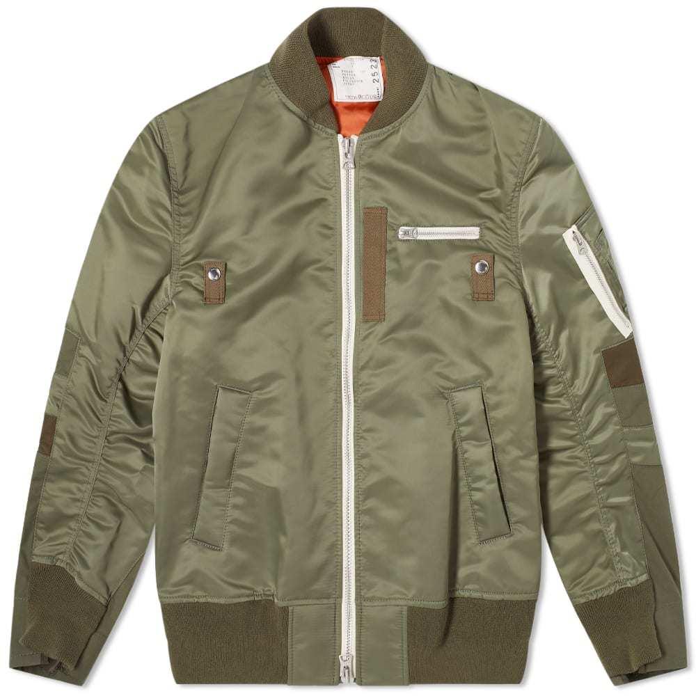 Sacai Twill MA-1 Jacket