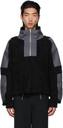 GmbH Black & Grey Paneled Mathis Zip-Up Jacket